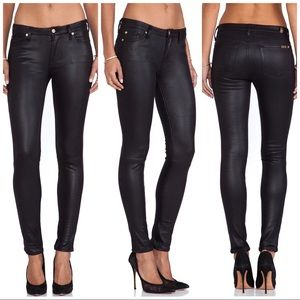 7 for all mankind- The Knee Seam Skinny Jean